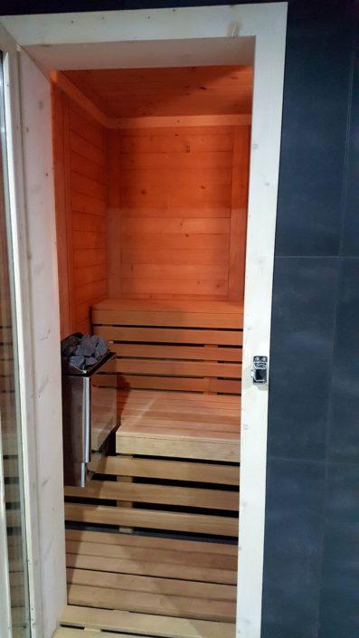 Sauna - Lipno apartmány Frymburk - ubytování na Lipně